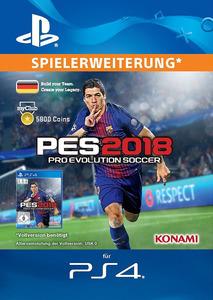 Verpackung von Pro Evolution Soccer 2018 myClub Coin 5800 [PS4]