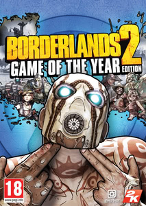 Packaging of Borderlands 2: Game of the Year Edition [Mac]