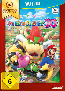 Verpackung von Mario Party 10 Selects [Wii U]