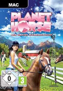 Verpackung von Planet Horse: Mein großes Pferdeabenteuer [Mac]