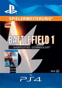 Verpackung von Battlefield 1 Shortcut Kit: Sturmsoldat-Bundle - deutsches PSN-Konto [PS4]