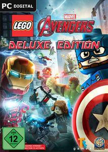 Verpackung von LEGO Marvel's Avengers Digital Deluxe Edition [PC]