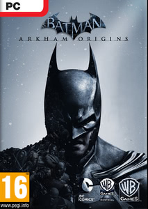 Packaging of Batman Arkham Origins [PC]