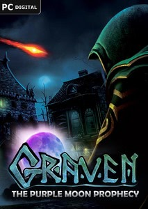 Packaging of Graven - The Purple Moon Prophecy [PC]