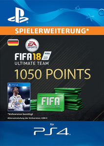 Verpackung von FIFA 18 1050 FUT Points Pack - Ultimate Team [PS4]
