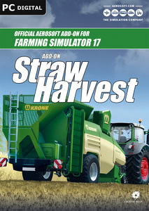 Packaging of Farming Simulator 17 Add-On Straw Harvest [PC]