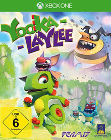 Verpackung von Yooka-Laylee [Xbox One]