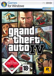 Verpackung von GTA - Grand Theft Auto IV [PC]