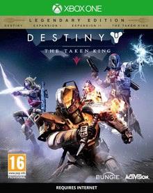 Verpackung von Destiny: König der Besessenen Legendäre Edition - PEGI AT [Xbox One]