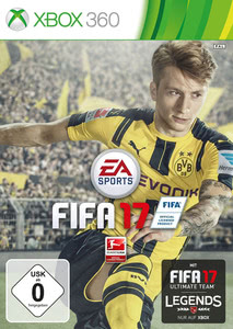 Verpackung von Fifa 17 [Xbox 360]