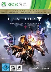 Verpackung von Destiny: König der Besessenen Legendäre Edition [Xbox 360]