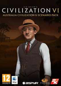 Packaging of Sid Meier's Civilization VI Australia Civilization & Scenario Pack [Mac]