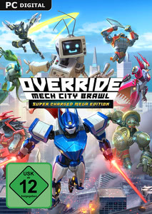 Verpackung von Override: Mech City Brawl Super Mega Charged Edition [PC]