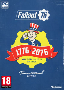 Packaging of Fallout 76 Tricentennial Edition [PC]