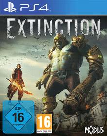 Verpackung von Extinction [PS4]