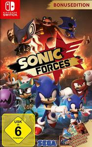 Verpackung von Sonic Forces Bonus Edition [Switch]