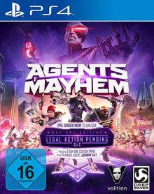 Verpackung von Agents of Mayhem Day One Edition [PS4]