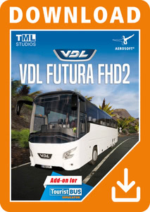 Packaging of Tourist Bus Simulator VDL Futura FHD2 [PC]