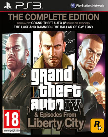 Verpackung von Grand Theft Auto IV Complete Edition - Uncut - PEGI AT [PS3]