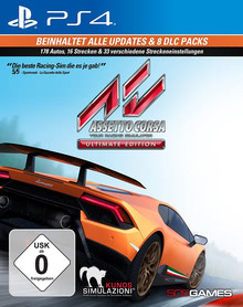 Verpackung von Assetto Corsa Ultimate Edition [PS4]