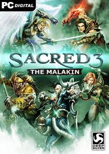 Verpackung von Sacred 3 - DLC - The Malakhim [PC]