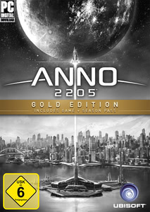 Verpackung von Anno 2205 Gold Edition [PC]