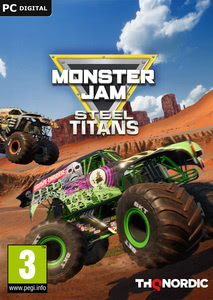 Packaging of Monster Jam: Steel Titans [PC]