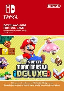 Packaging of New Super Mario Bros. U Deluxe [Switch]