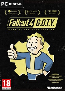 Packaging of Fallout 4 Game of the Year Edition [PC]