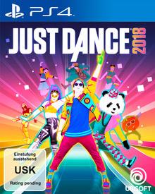 Verpackung von Just Dance 2018 [PS4]