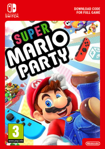 Packaging of Super Mario Party [Switch]