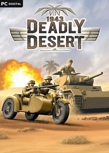 Packaging of 1943 Deadly Desert [PC]
