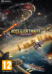 Packaging of Aces of the Luftwaffe - Squadron [PC]