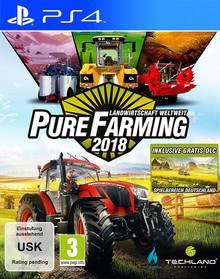 Verpackung von Pure Farming 2018 - Landwirtschaft weltweit D1 Edition [PS4]