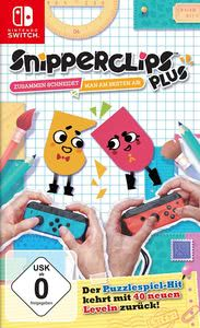 Verpackung von Snipperclips: Cut it out - together [Switch]