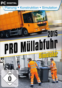 Verpackung von Pro Müllabfuhr Simulator 2015 [PC]