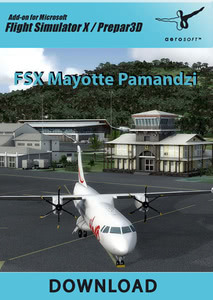 Packaging of FSX Mayotte Pamandzi [PC]
