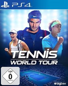 Verpackung von Tennis World Tour [PS4]