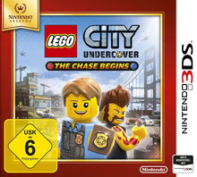 Verpackung von Lego City Undercover Selects [3DS]