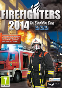 Packaging of Firefighters 2014: The Simulation Game [PC]