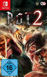 Verpackung von AoT 2 (based on Attack on Titan) [Switch]