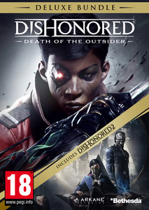 Packaging of Dishonored: Death of the Outsider + Dishonored 2 Deluxe Bundle [PC]
