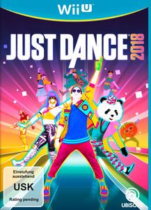 Verpackung von Just Dance 2018 [Wii U]