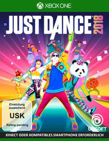 Verpackung von Just Dance 2018 [Xbox One]