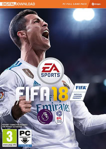 Packaging of Fifa 18 [PC]