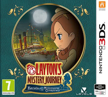 Packaging of Layton's Mystery Journey: Katrielle and the Millionaires' Conspiracy [3DS]