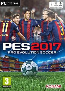 Packaging of Pro Evolution Soccer 2017 [PC]