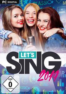 Verpackung von Let's Sing 2019 [PC]