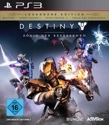 Verpackung von Destiny: König der Besessenen Legendäre Edition [PS3]