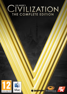 Packaging of Sid Meier's Civilization V The Complete Collection [Mac]